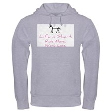 Ride More Horse Jumper Hoody