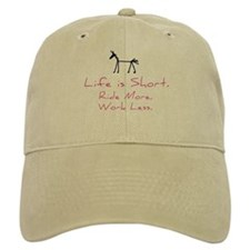 Ride More Horse Baseball Cap
