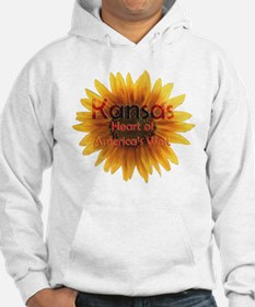 Kansas, Heart of the West Hoodie