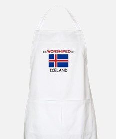 I'm Worshiped In ICELAND BBQ Apron