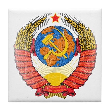 Proletariat of all Countries, Unite Tile Coaster