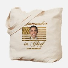 Commander in Chief Tote Bag