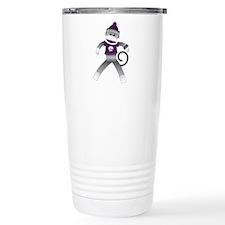 Naughty Monkey Travel Mug