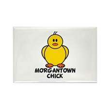 Morgantown Chick Rectangle Magnet