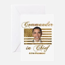 Commander in Chief Greeting Card