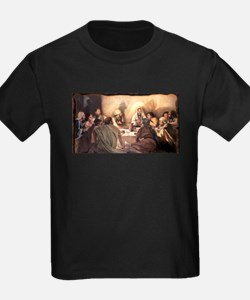 Jesus Eats with Disciples T