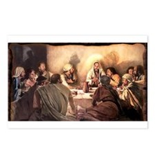 Jesus Eats with Disciples Postcards (Package of 8)