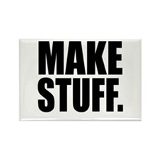 """Make Stuff"" Rectangle Magnet"
