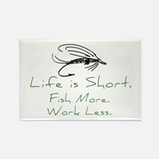 Fly Fishing Rectangle Magnet