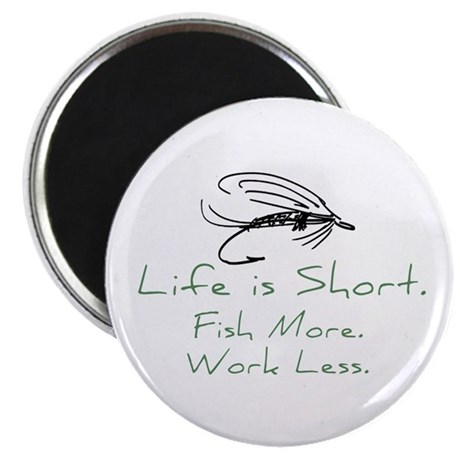"Fly Fishing 2.25"" Magnet (100 pack)"