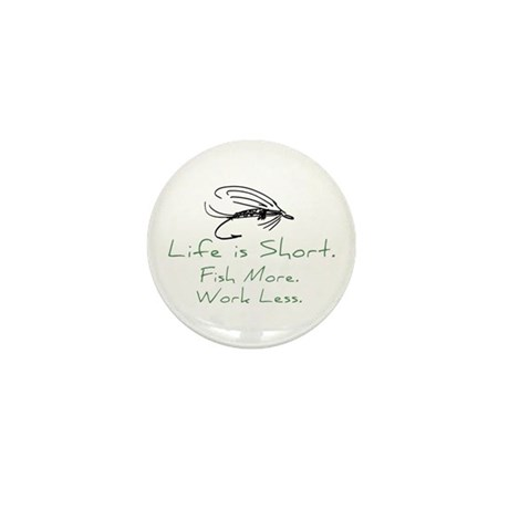Fly Fishing Mini Button (100 pack)