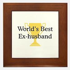 WB Ex-Husband Framed Tile