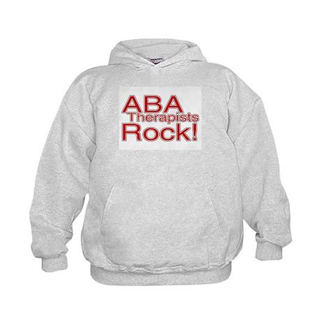 ABA Therapists Rock! Kids Hoodie