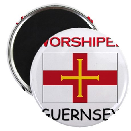 I'm Worshiped In GUERNSEY Magnet