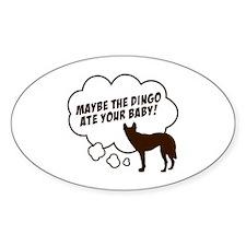 """Dingo"" Oval Decal"