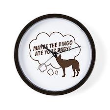 """""""Dingo"""" Wall Clock"""