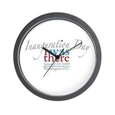 Inauguration Day I Was There Wall Clock