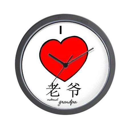 Grandpa (Maternal) Wall Clock