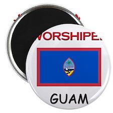 I'm Worshiped In GUAM Magnet