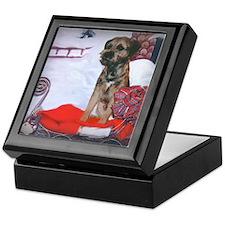 Border Terrier Holiday Keepsake Box