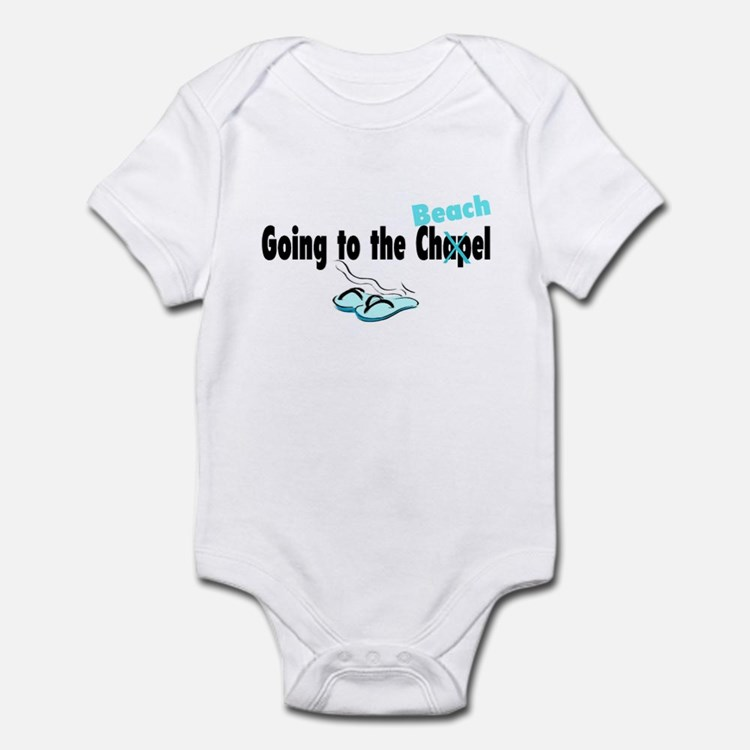 Going To The Chapel (Beach) Infant Bodysuit