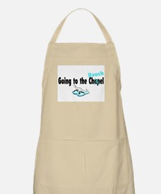 Going To The Chapel (Beach) BBQ Apron