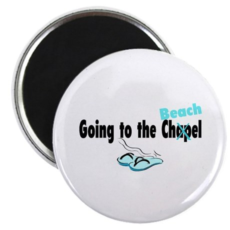 Going To The Chapel (Beach) Magnet