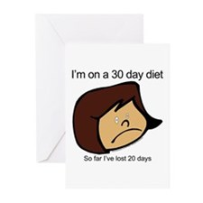 When in doubt Greeting Cards (Pk of 10)