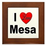 I Love Mesa Arizona Framed Tile