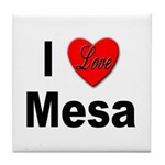 I Love Mesa Arizona Tile Coaster