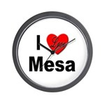 I Love Mesa Arizona Wall Clock