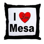 I Love Mesa Arizona Throw Pillow