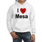 I Love Mesa Arizona (Front) Hooded Sweatshirt