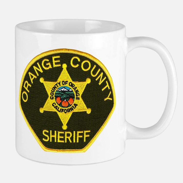 Orange Sheriff Mug