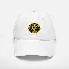 Orange Sheriff Baseball Baseball Cap