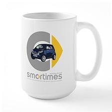 Blue/Black Smart Car Mug