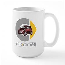 Red/Black Smart Car Mug