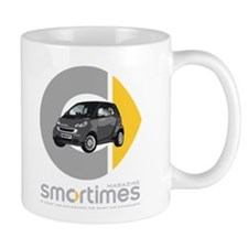 Gray/Black Smart Car Mug