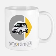 White/Black Smart Car Mug