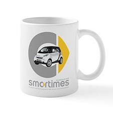 White/Black Smart Car Mug