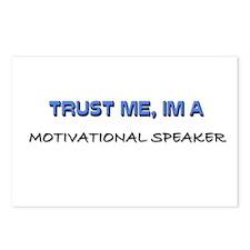 Trust Me I'm a Motivational Speaker Postcards (Pac