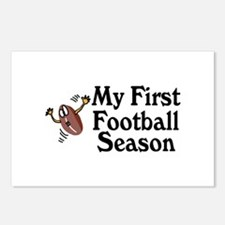 My First Football Season Postcards (Package of 8)