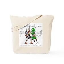 Hooded Man Tote Bag