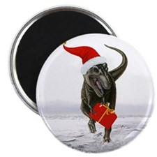 "'Santasaurus' T-Rex ~ 2.25"" Magnet (100 pack)"
