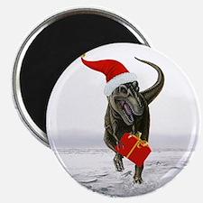 "'Santasaurus' T-Rex ~ 2.25"" Magnet (10 pack)"