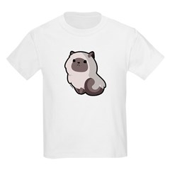Siamese Cat Kids Light T-Shirt