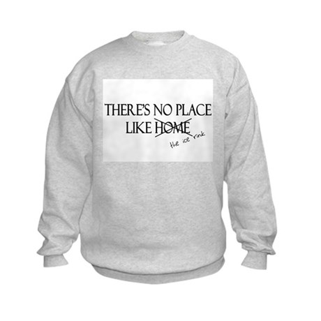 No Place Like the Ice Rink Kids Sweatshirt