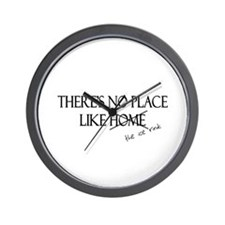 No Place Like the Ice Rink Wall Clock