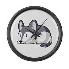 Husky Large Wall Clock