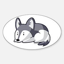 Husky Oval Decal